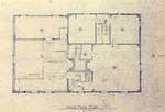 Mott House: Second Floor Plan