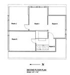 Akin House: Second Floor Plan