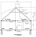 Akin House: Cross Section Framing