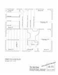 Akin House: First Floor Plan
