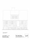 Akin House: East Elevation