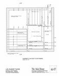 Akin House: Basement Plan, First Floor Framing