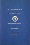 Commencement Program, 1986