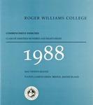 Commencement Program, 1988