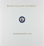 Commencement Program, 1993 by Roger Williams University