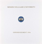 Commencement Program, 1994 by Roger Williams University