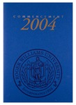Commencement Program, 2004 by Roger Williams University