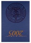 Commencement Program, 2005 by Roger Williams University